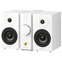 ☆SONY セパレートタイプ Bluetoothスピーカー コンパクトオーディオシステム(ホワイト) CAS-1-WC