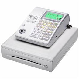 <欠品中 未定>☆CASIO 電子レジスター (ホワイト) TE-400-WE