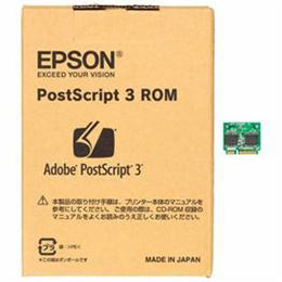 ☆EPSON Adobe社PostScript 3 純正ソフトウェア LPPSROM03