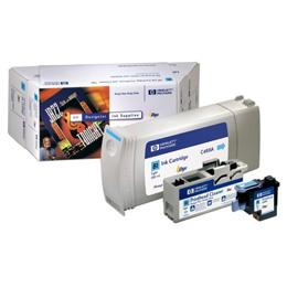 ☆ヒューレットパッカード HPインク81バリューパックシアン C4991A