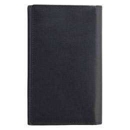 ☆ソフトオイルレザー カード24枚収納財布(ブラック) K91209239