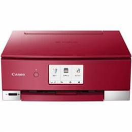 ☆CANON インクジェットプリンター PIXUS(ピクサス) TSシリーズ 4.3型液晶 レッド PIXUSTS8230RD