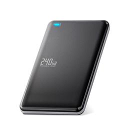 <欠品中 未定>☆エレコム 外付けSSD/ポータブル/USB3.1(Gen1)対応/240GB/ブラック ESD-ED0240GBK