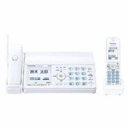 <欠品 未定>☆Panasonic デジタルコードレス普通紙ファクス(子機1台付き) ホワイト KX-PZ510DL-W