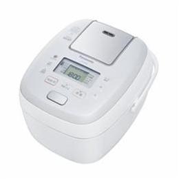 <欠品中 未定>☆Panasonic 可変圧力IHジャー炊飯器 5.5合炊き ホワイト SR-PB108-W