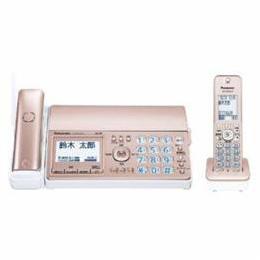 <欠品中 未定>☆Panasonic デジタルコードレス普通紙ファクス(子機1台付き) ピンクゴールド KX-PZ510DL-N