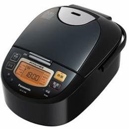 ☆Panasonic IH炊飯器 5.5合炊き ステンレスブラック SR-FC108-K