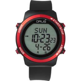 ☆GRUS 腕時計 歩幅計測 ウォーキングウォッチ GRS001-01
