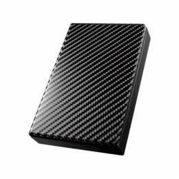 ☆IOデータ USB 3.0/2.0対応ポータブルハードディスク「高速カクうす」 カーボンブラック 3TB HDPT-UT3DK