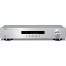 ☆YAMAHA FM補完放送対応 ワイドFM/AMチューナー シルバー T-S501S