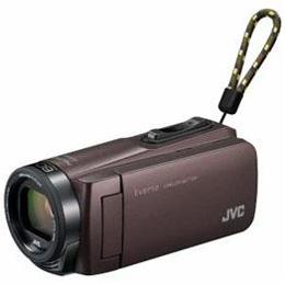 ☆JVC Everio(エブリオ) 32GBメモリー内蔵ハイビジョンメモリービデオカメラ (ブラウン) GZ-F270-T
