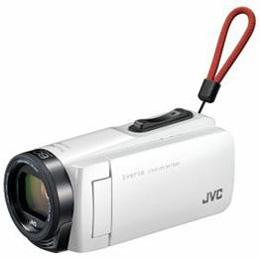 ☆JVC Everio(エブリオ) 32GBメモリー内蔵ハイビジョンメモリービデオカメラ (ホワイト) GZ-F270-W
