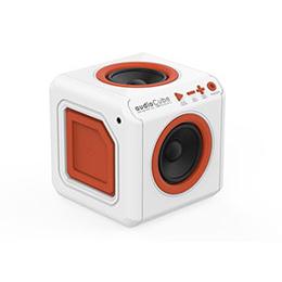 ☆allocacoc オーディオキューブ ホワイト audioCube Portable US WHITE 3901WT/USACPT