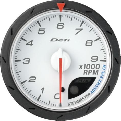 Defi メーター Defi-Link ADVANCE CR DF09403 タコメーター 60φ ホワイト 【NF店】