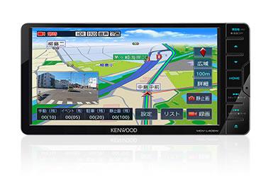 KENWOOD ケンウッド MDV-L406W 200mmワイドモデル ワンセグTVチューナー内蔵 DVD/USB/SD AVナビゲーションシステム 【NF店】