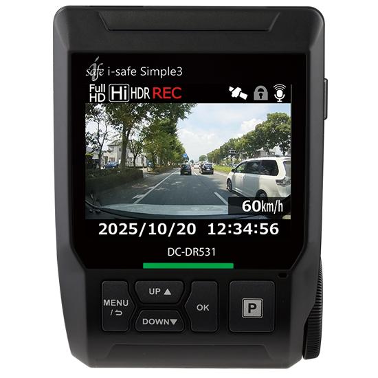 DENSO DC-DR531 i-Safe Simple3(GPS標準) 2617800130 【NF店】