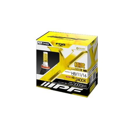 IPF 104FLB IPF LEDフォグランプ H8/11/16 12v 12w 2400k 【NF】