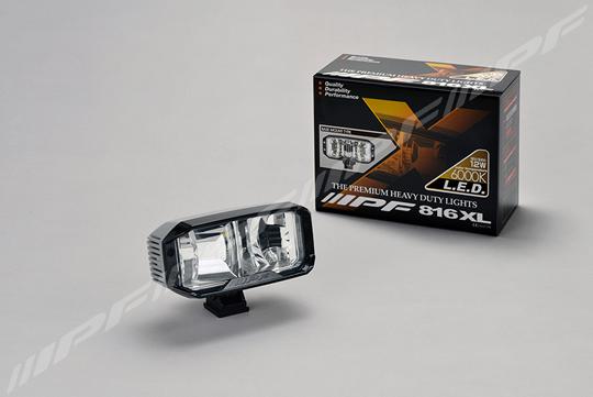 IPF 816XL IPF LEDバックランプ 12V/24V 12W 6000K 【NF】