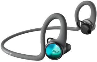 Plantronics Bluetooth ワイヤレスヘッドセット BackBeat FIT 2100 グレー 【NF店】