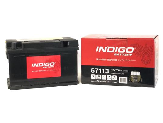 INDIGO インディゴバッテリー 欧州車用 CMF 57113 【57113】 欧州車用
