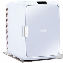 ☆ツインバード 20L 2電源式ポータブル電子適温ボックス「D-CUBE X」 グレー HR-DB08GY
