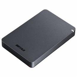 ☆BUFFALO ポータブルHDD ブラック 2TB HD-PGF2.0U3-BBKA