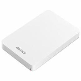 ☆BUFFALO ポータブルHDD ホワイト 2TB HD-PGF2.0U3-BWHA