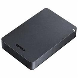 ☆BUFFALO ポータブルHDD ブラック 4TB HD-PGF4.0U3-GBKA