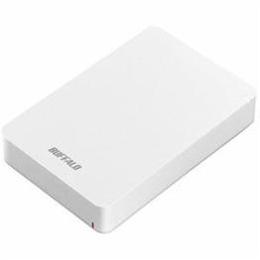 ☆BUFFALO USB3.1(Gen1) ポータブルHDD 4TB ホワイト HD-PGF4.0U3-GWHA