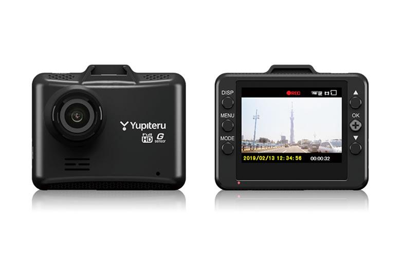 YUPITERU ユピテル 200万画素Gセンサー搭載一体型ドライブレコーダー DRY-ST1100C