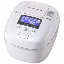 タイガー ☆タイガー 圧力IH炊飯ジャー 炊きたて 1升炊き エアリーホワイト JPC-G180-WA