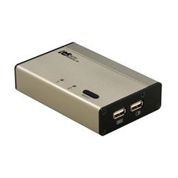 ☆ラトックシステム USB接続DVI/Audio対応(PC 2台用) REX-230UDA