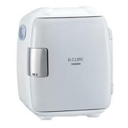 ☆ツインバード 5.5L 2電源式コンパクト電子保冷保温ボックス「D-CUBE S」 グレー HR-DB06GY