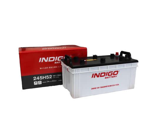 <限定数特価><個人宅配送不可>INDIGO インディゴバッテリー 大型車用(開放型)245H52