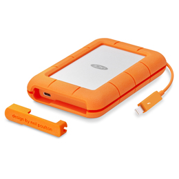 ☆LaCie Rugged Thunderbolt USB-C/5TB STFS5000800