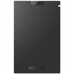 ☆BUFFALO 耐振動/耐衝撃 USB3.1(Gen1)対応 ポータブルSSD 960GB ブラック SSD-PG960U3-BA