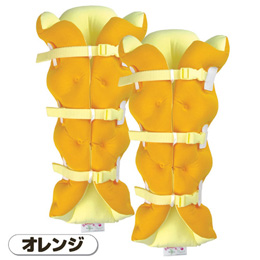 ☆ムッシュ サクラ咲く足まくら EVOLUTION(両足セット) オレンジ 8120733