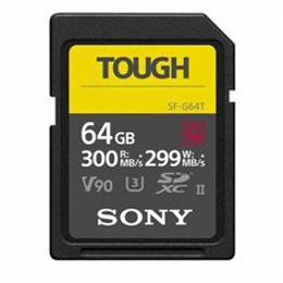 <欠品中 納期未定>☆SONY 64GB SDXC UHS-II メモリーカード Class10 SF-G64T