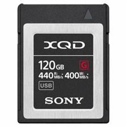 <欠品 未定>☆SONY XQDメモリーカード 120GB QDG120F