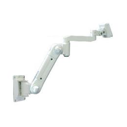 ☆ライブクリエータ スイング式スタンダードアーム 壁面固定 低荷重 アイボリー ARM2-10AW