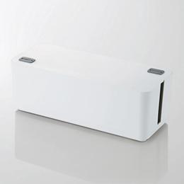 ☆5個セット エレコム ケーブルボックス(6個口) EKC-BOX001WHX5