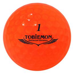 ☆6個セット TOBIEMON 超高性能3ピース PREMIUM-3 スパークルオレンジ ダース T-B3DOX6