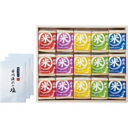 ☆高級木箱入り 贅沢銘柄食べくらべ満腹リッチギフトセット L3005554
