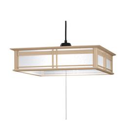 ☆日立 LED和風木枠ペンダントライト~8畳 LEP-CA801EJ