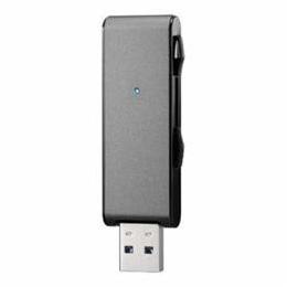 ☆IOデータ USB3.1 Gen 1(USB3.0)対応 アルミボディUSBメモリー 「U3-MAX2シリーズ」 128GB/ブラック U3-MAX2/128K