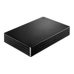 ☆IOデータ 外付けHDD カクうす Lite ブラック ポータブル型 4TB HDPH-UT4DKR