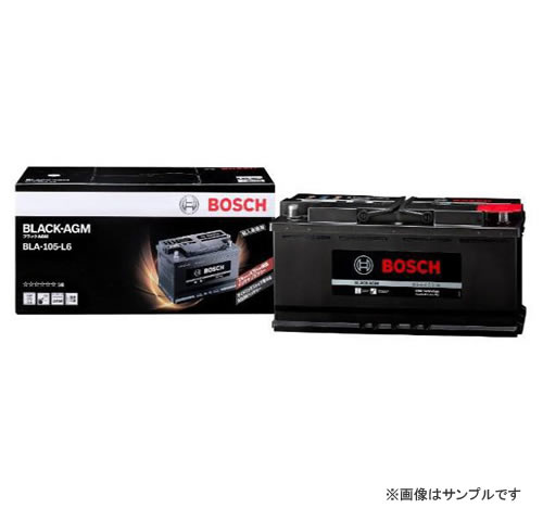 BOSCH ボッシュ 輸入車用 BLACK AGMバッテリー BLA-105-L6