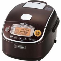 ☆象印 圧力IH炊飯器 極め炊き 3合炊き ブラウン NP-RM05-TA