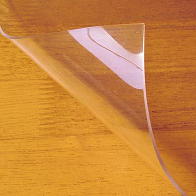 ●【送料無料】日本製 両面非転写テーブルマット(2mm厚) クリアータイプ 約1000×1800長 TH2-1810「他の商品と同梱不可/北海道、沖縄、離島別途送料」
