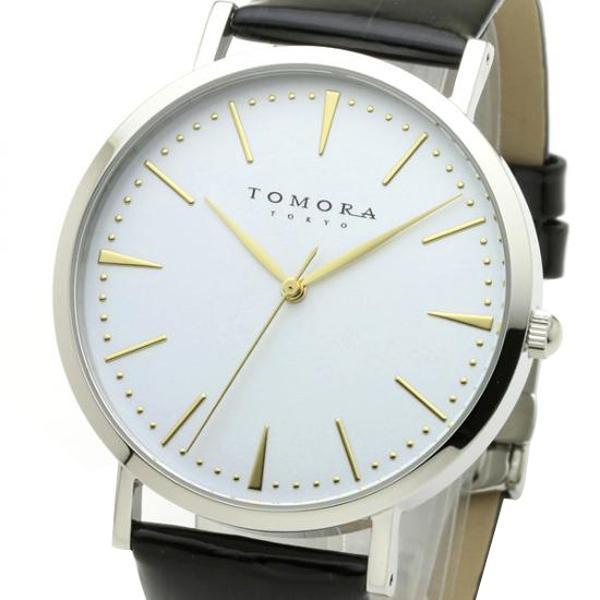 ●【送料無料】TOMORA TOKYO(トモラ トウキョウ) 腕時計 T-1601-GWHBK「他の商品と同梱不可/北海道、沖縄、離島別途送料」